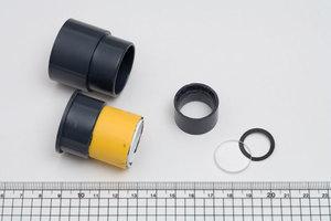 54mmの凸レンズ